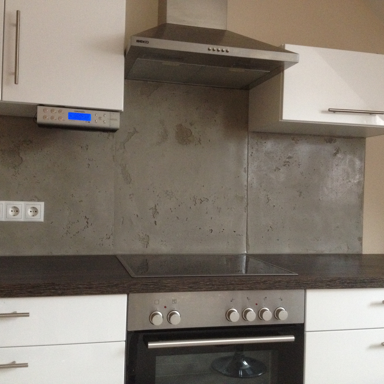 Betonimitation küche – maler  und lackierermeister norbert hanft